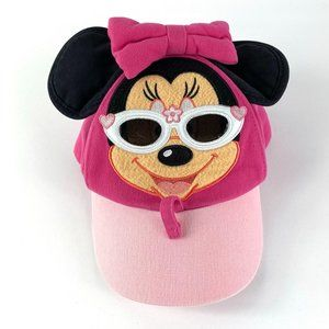 Disney Parks Pink Minnie Mouse Toddler Hat